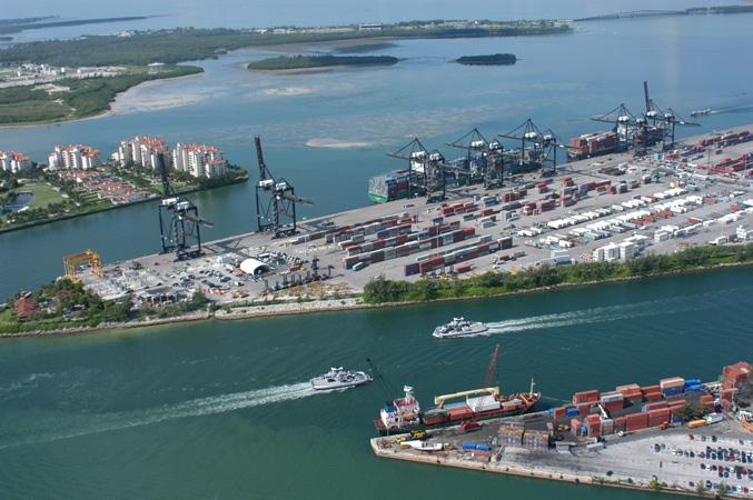 Real estate near the Port of Miami
